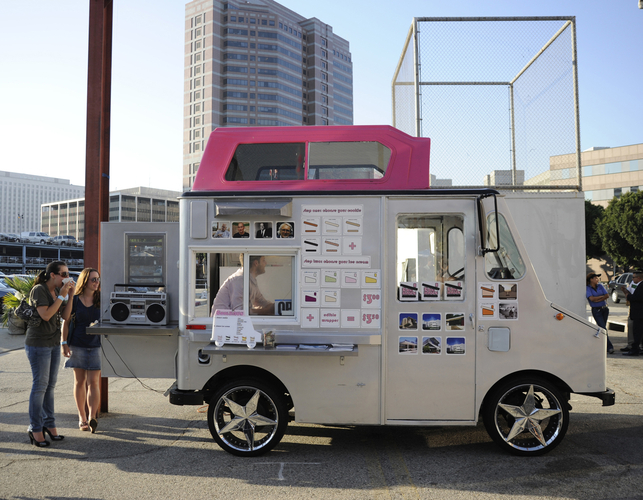 Coolhaus Ice Cream Truck Mobile Eateries Dod Dwell