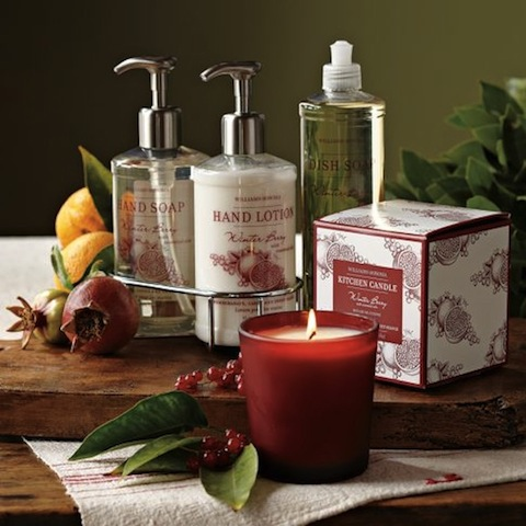 4 - Winterberry Hand Soap - Williams Sonoma